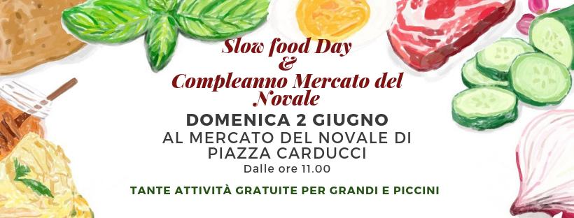 Slow Food Day & Compleanno Del Mercato Del Novale