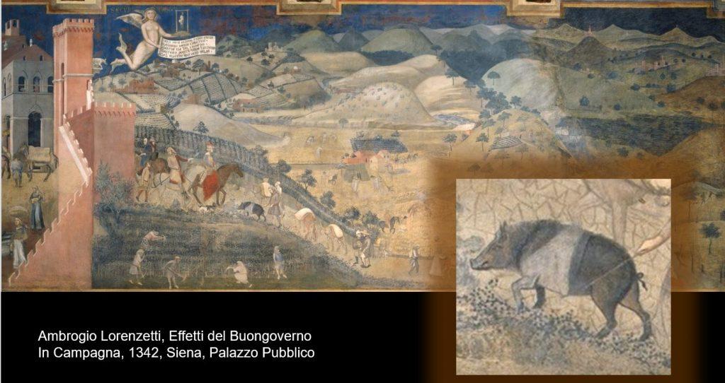 gli affreschi del Buongoverno di Ambrogio Lorenzetti